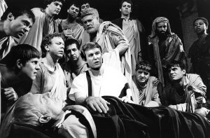Jost starred in a 1987 production of Julius Caesar with Al Pacino and Martin Sheen.