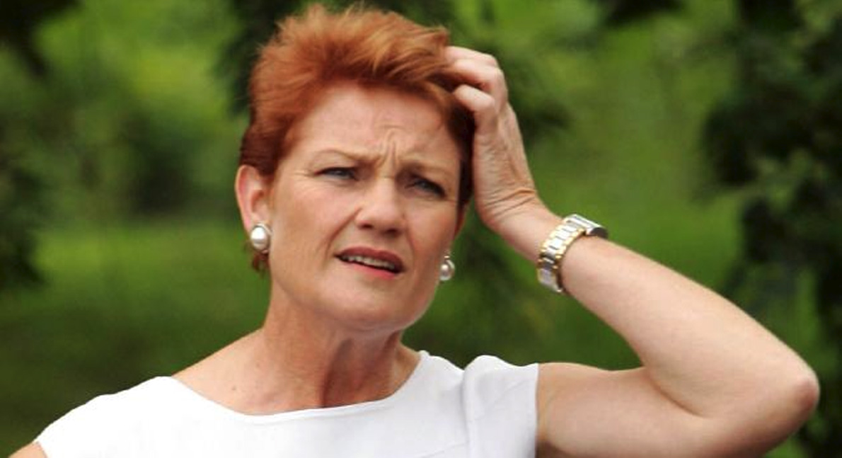 Pauline Hanson resigns from Parliament after discovering she's a Chinese-Iranian dual citizen